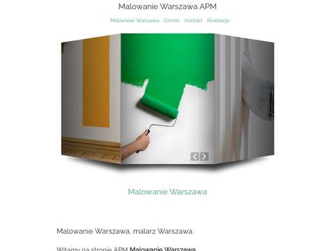 APM Malowanie - malarz Warszawa