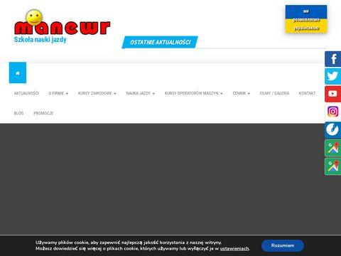 Manewr kursy z prawa jazdy Wrocław