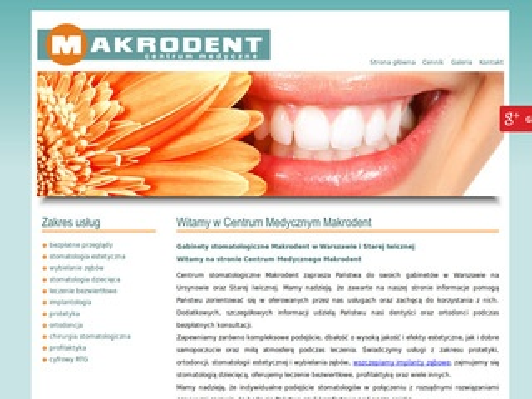 Makrodent chirurgia stomatologiczna