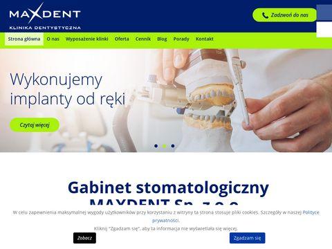 Maxdent tomograf Wrocław