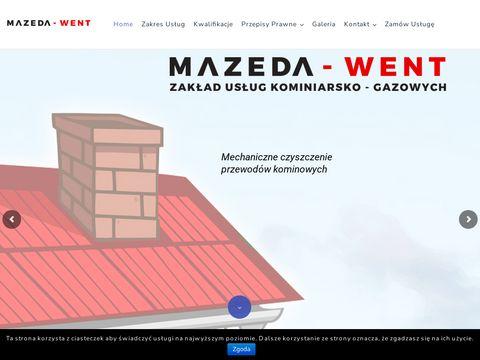 Mazeda-Went usługi kominiarskie Gdańsk