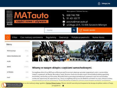 Mat-auto.pl częsci używane Skoda