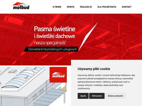 Matbud.com świetliki dachowe