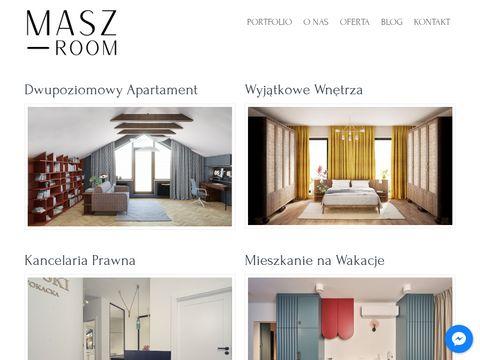 Maszroom.com - projektowanie wnętrz
