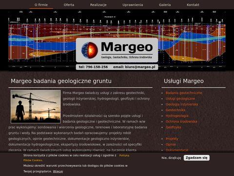 Margeo.pl badania geotechniczne