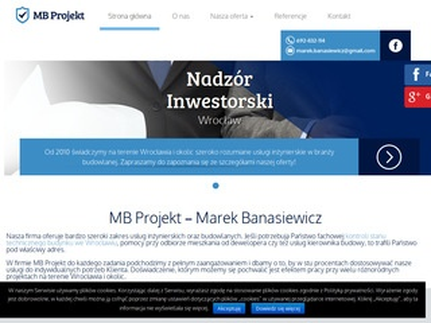 MB Projekt Nadzór inwestorski Wrocław