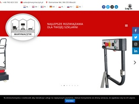 Maryniaczyk.pl - roboty do oprysków