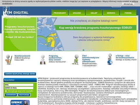 Mtm.com.pl - program do kosztorysowania