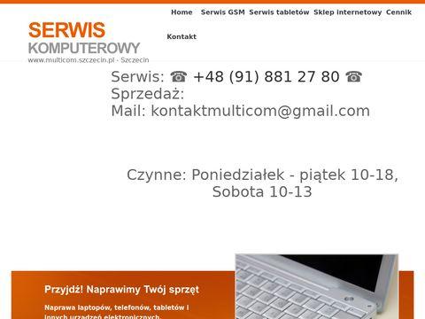 Multicom.szczecin.pl serwis komputerowy