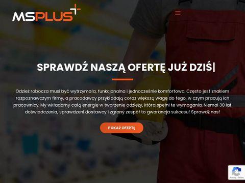 MS Plus kurtki ocieplane Poznań