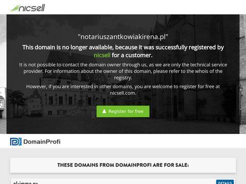 Irena Antkowiak notariusze Poznań