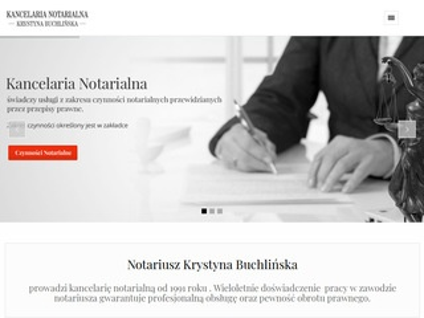 Krystyna Buchlińska notarusz Lublin