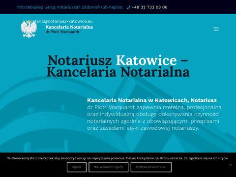 Notariusz-katowice.eu Piotr Marquardt podział majątku