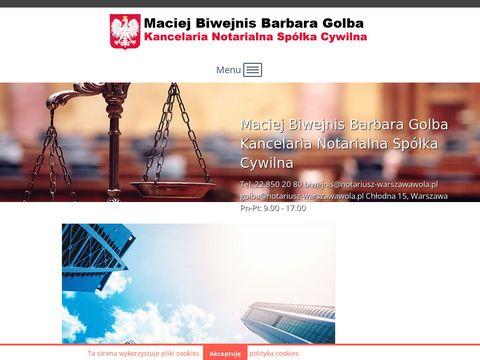 Notariusz-warszawawola.pl kancelaria