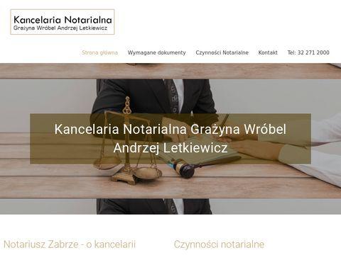 G. Wróbel, A. Letkiewicz