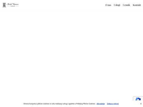Michał Wójtowicz akt notarialny Bielsko