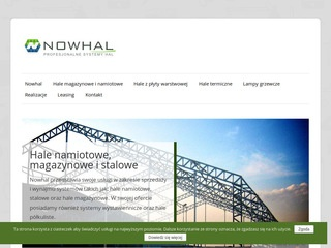 Nowhal - projekt i budowa hal, Szczecin