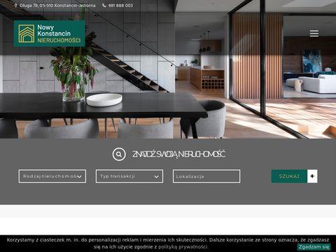 Nieruchomosci-konstancin.com domy i działki