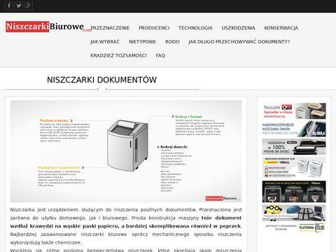 Niszczarkibiurowe.com