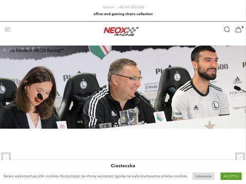 Neox-racing.com fotel dla gracza gamingowy