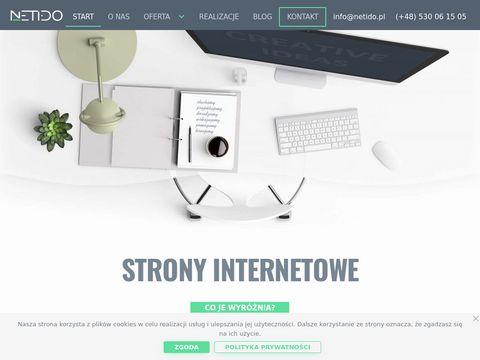 Netido.pl - strony internetowe