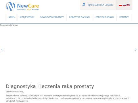 NewCare rak prostaty przyczyny