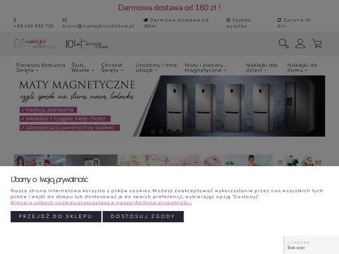 Naklejkiozdobne.pl - na ścianę