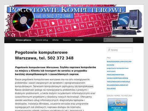 Naprawakomputerapc.pl laptopów Warszawa