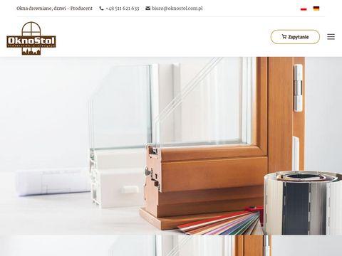 Oknostol.com.pl drzwi drewniane
