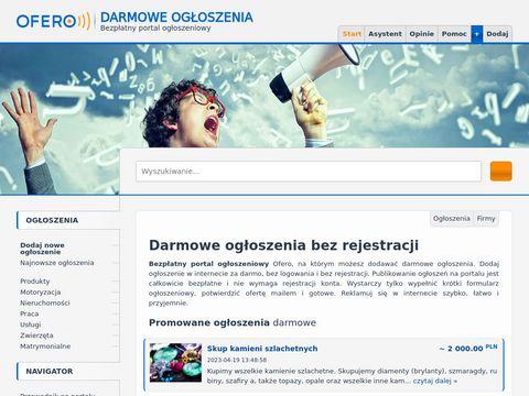 Ofero.pl zlecenia budowlane i transportowe