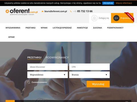 Oferent - oferent.com.pl