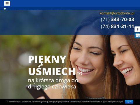 Ortodontix aparat estetyczny Wrocław
