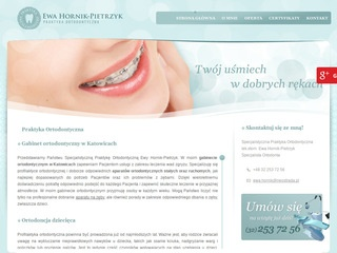 E. Hornik-Pietrzyk aparat na zęby