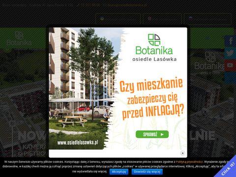 Osiedlebotanika.pl nowe mieszkania Nowa Huta