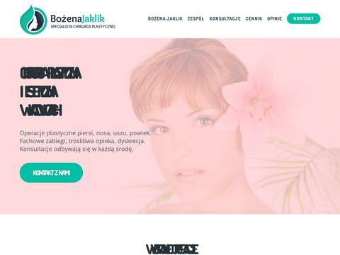 Operacje-plastyczne.com.pl - Bożena Jaklik
