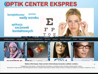 Optik Center Ekspres oprawy okularowe