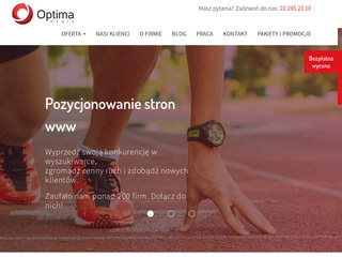Optimamedia.pl marketing szeptany agencja