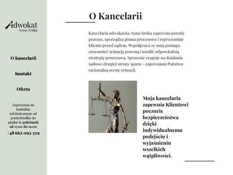 Annasrokaadwokat.pl prawo rodzinne