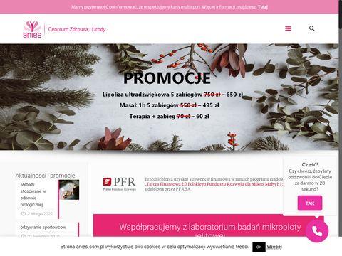 Anies.com.pl rehabilitacja Poznań