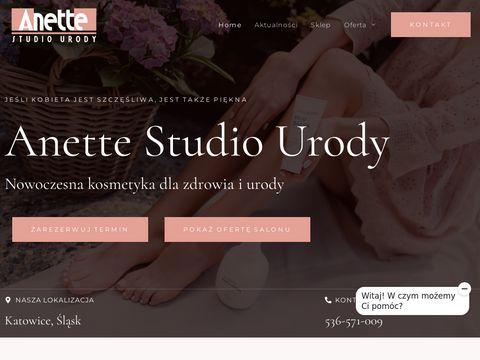Anette.com.pl salon kosmetyczny