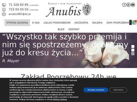 Anubis formalności pogrzebowe Wrocław