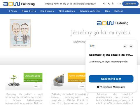 AOW.pl - faktoring