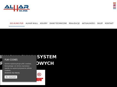 Alhar.pl klinkier elewacyjny Iso-Klink-Pur