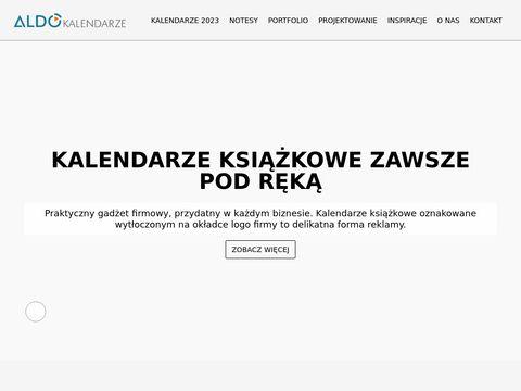 Aldo-kalendarze.pl firmowe projektowanie