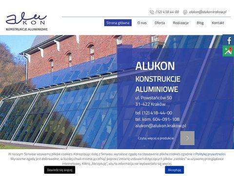 Alukon.krakow.pl konstrukcje