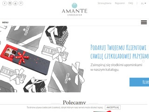 Amante.com.pl ręcznie robione czekoladki
