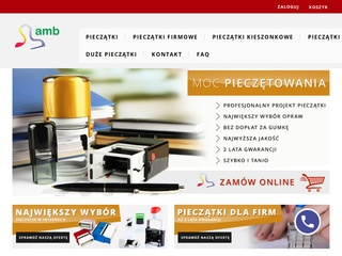 Amb.net.pl szybkie, tanie pieczątki - Poznań