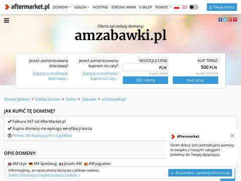 AM Zabawki fajowe dla małych dzieci