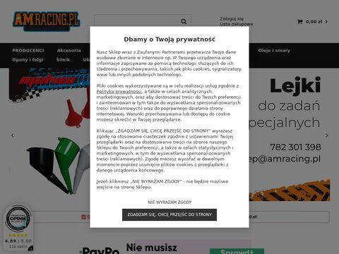 Amracing.pl sklep, akcesoria, części motocyklowe