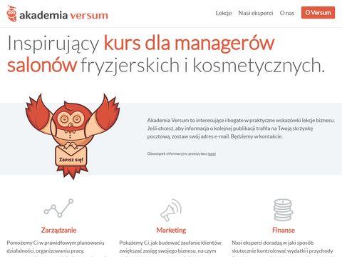 Akademia Versum - akademia fryzjerstwa